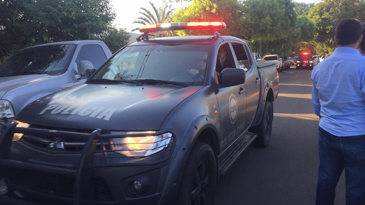 Três operações policiais estão em andamento em Maringá