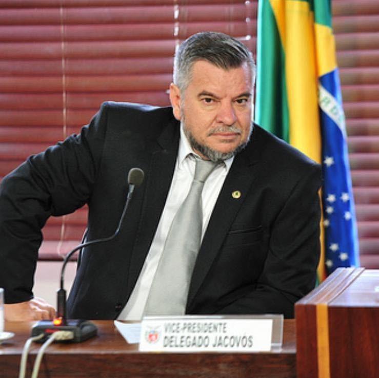 Delegado Jacovós (PL), delegado e deputado estadual – Foto: reprodução Facebook