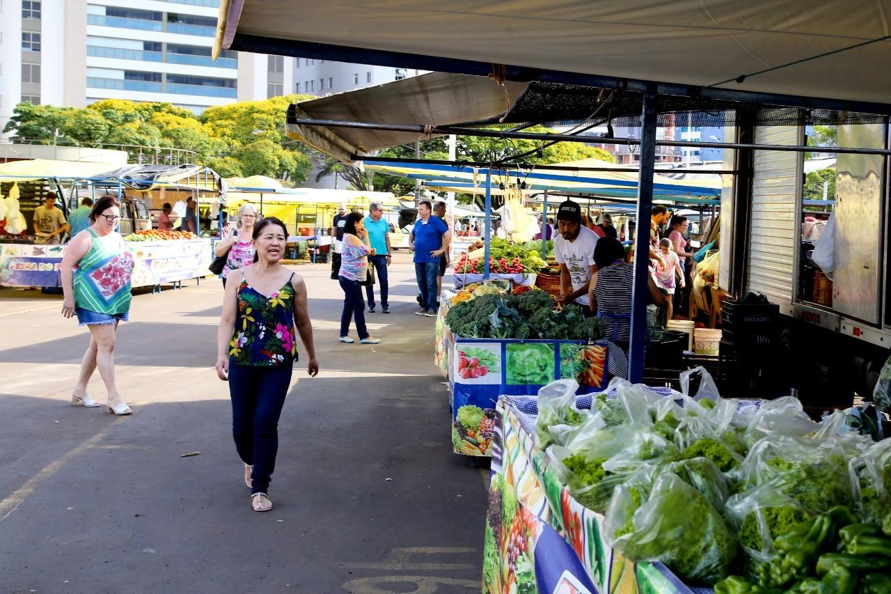 Prefeitura amplia locais e horários das feiras livres em Maringá