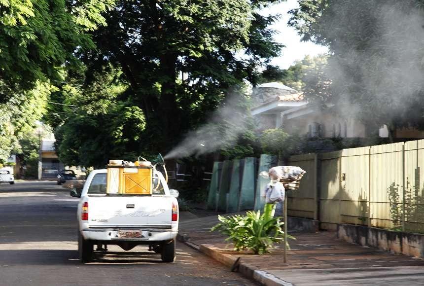 Fumacê contra a dengue começa na segunda-feira em Maringá