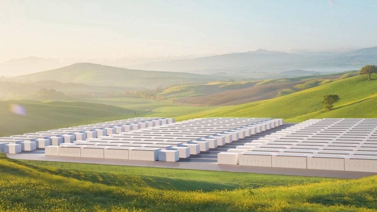 Tesla lança o Megapack, novo sistema de armazenamento de energia