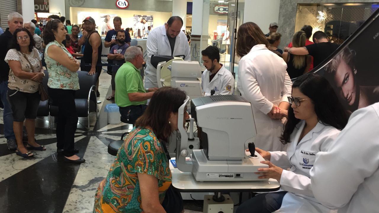 Prevenção ao glaucoma é lembrada em ação