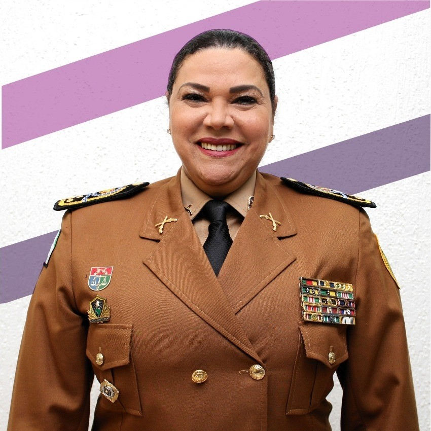 Coronel Audilene (Progressistas), policial militar  – Foto: reprodução Facebook