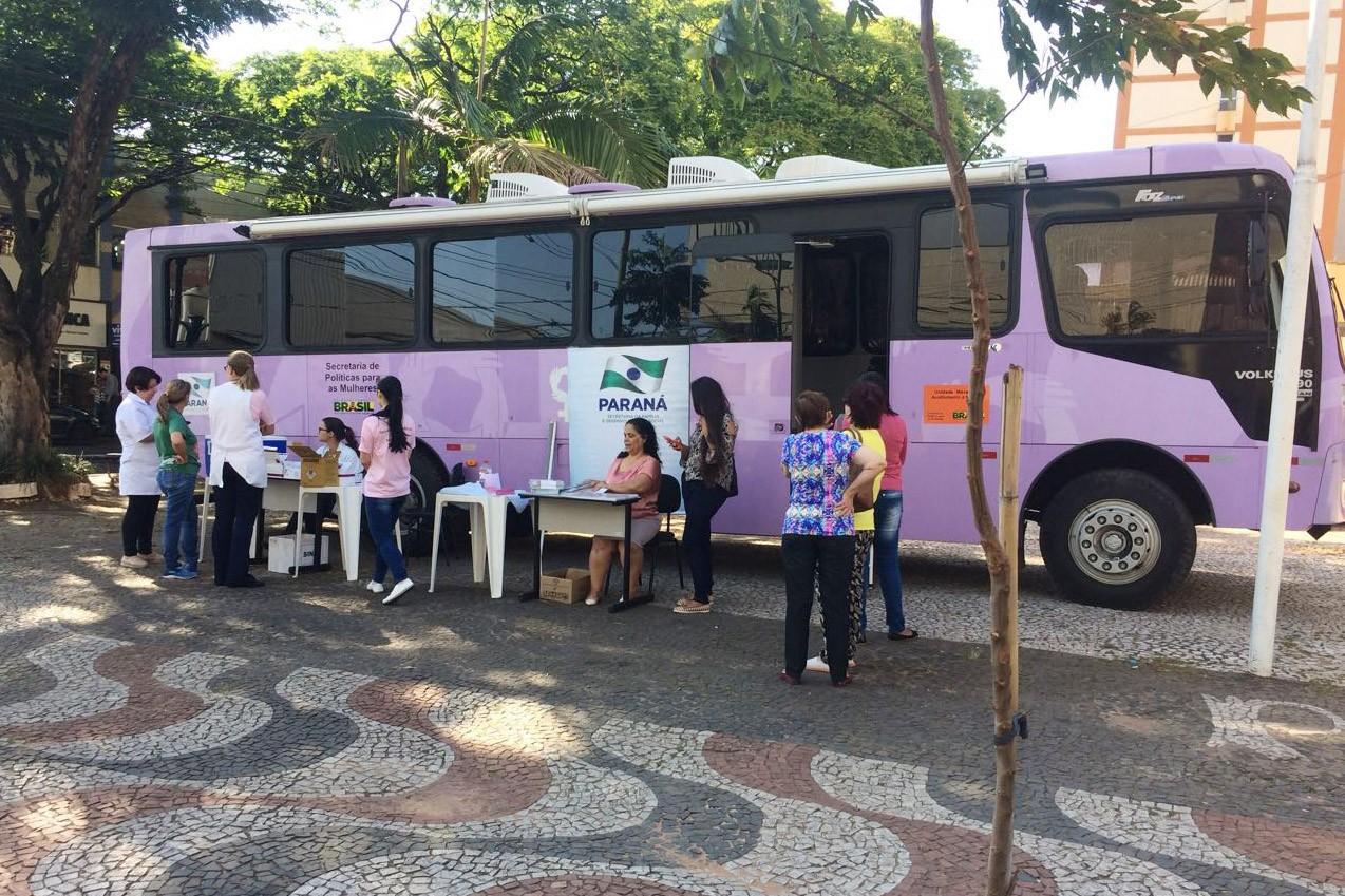 Paiçandu e Nova Esperança vão receber o Ônibus Lilás em março