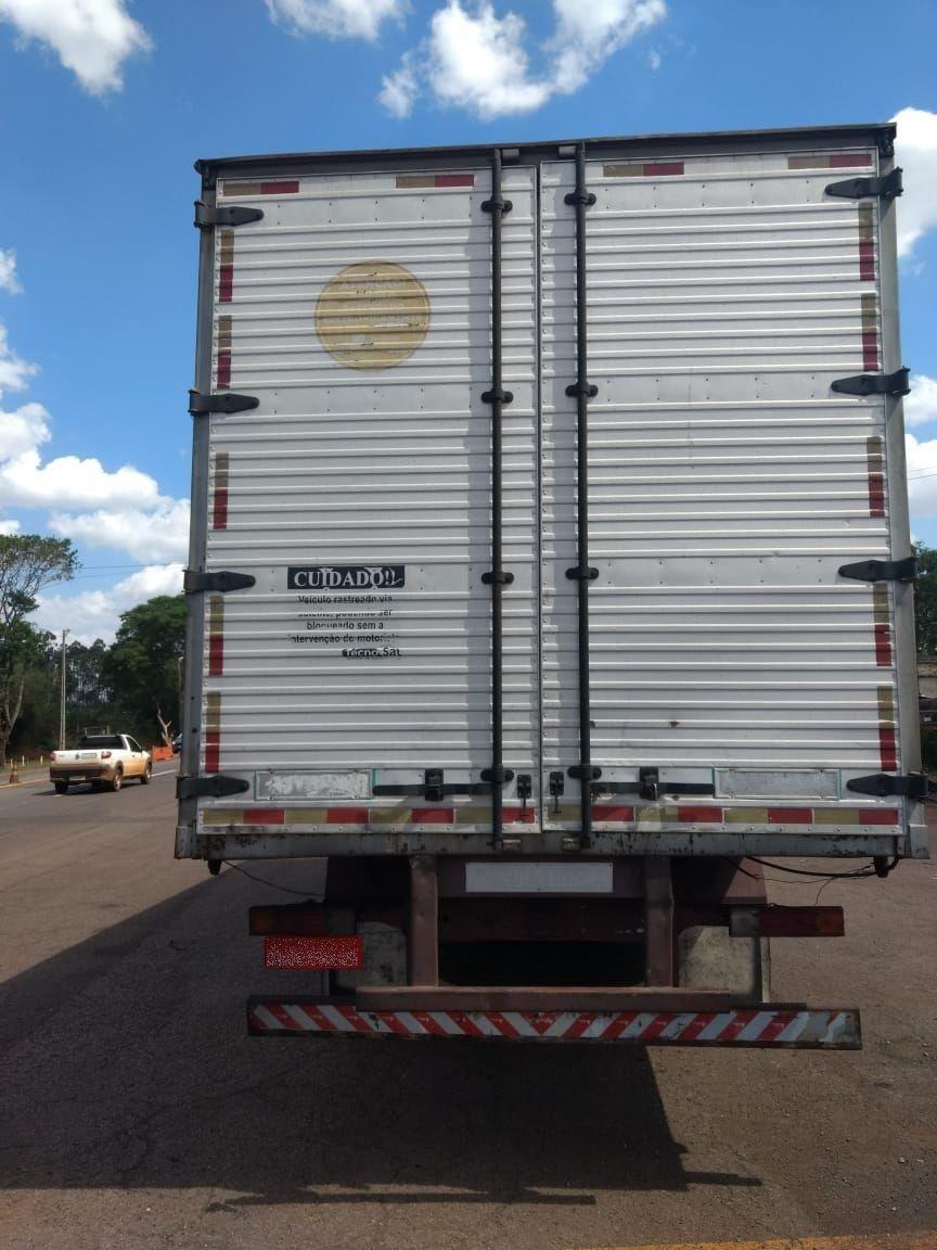 Carga de agrotóxico roubada em SC é recuperada em Campo Mourão