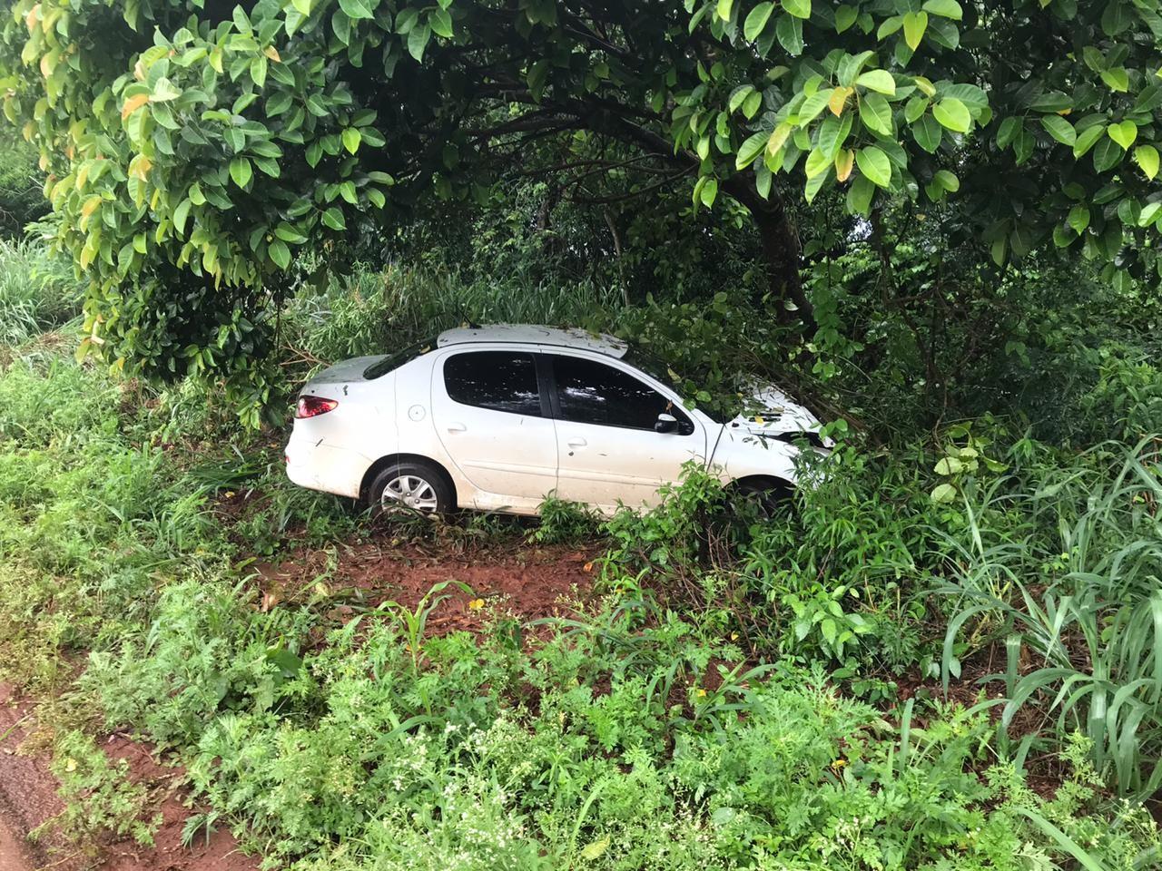 Prefeito de Ivatuba sofre acidente a caminho de Maringá