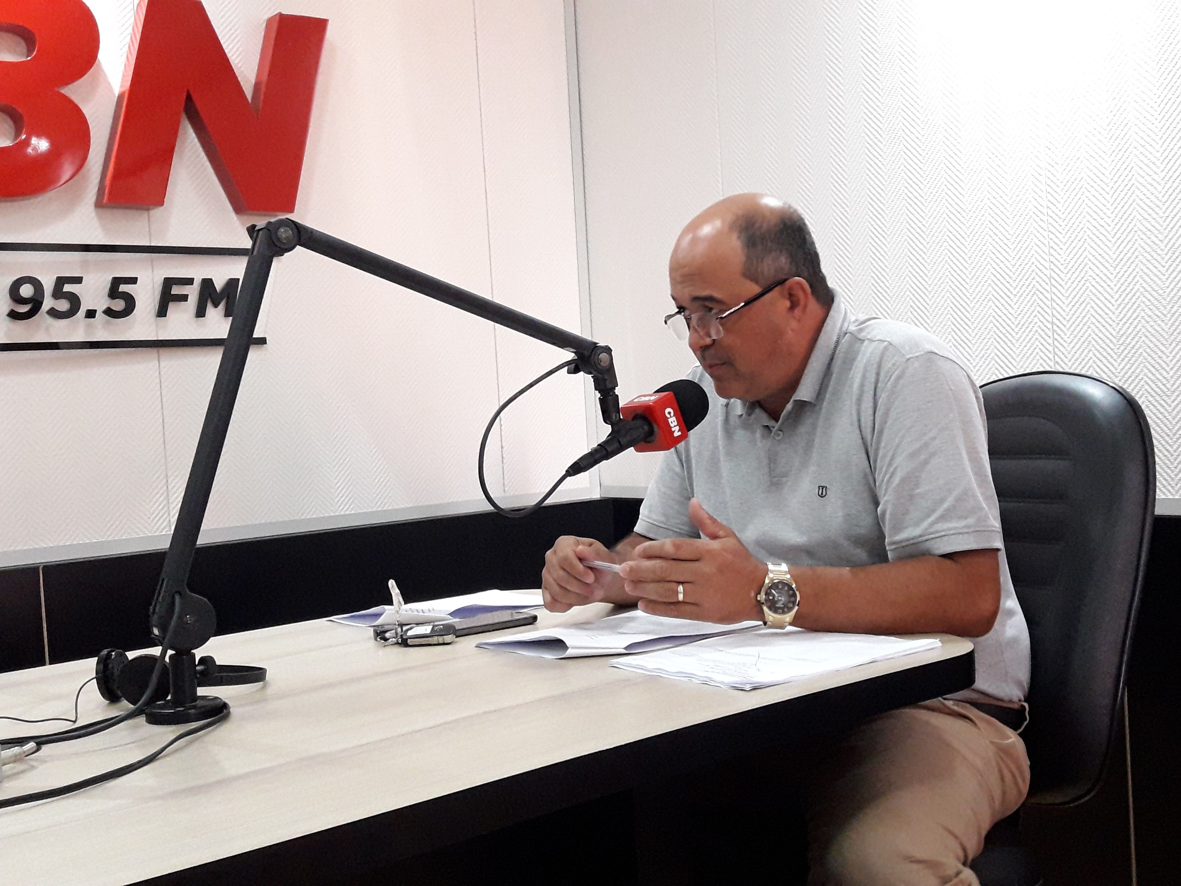 Odair Fogueteiro (PDT) comemorou em 2019 o resultado do Refis