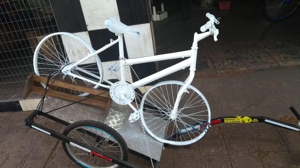 Mais uma 'ghost bike' será instalada em Maringá
