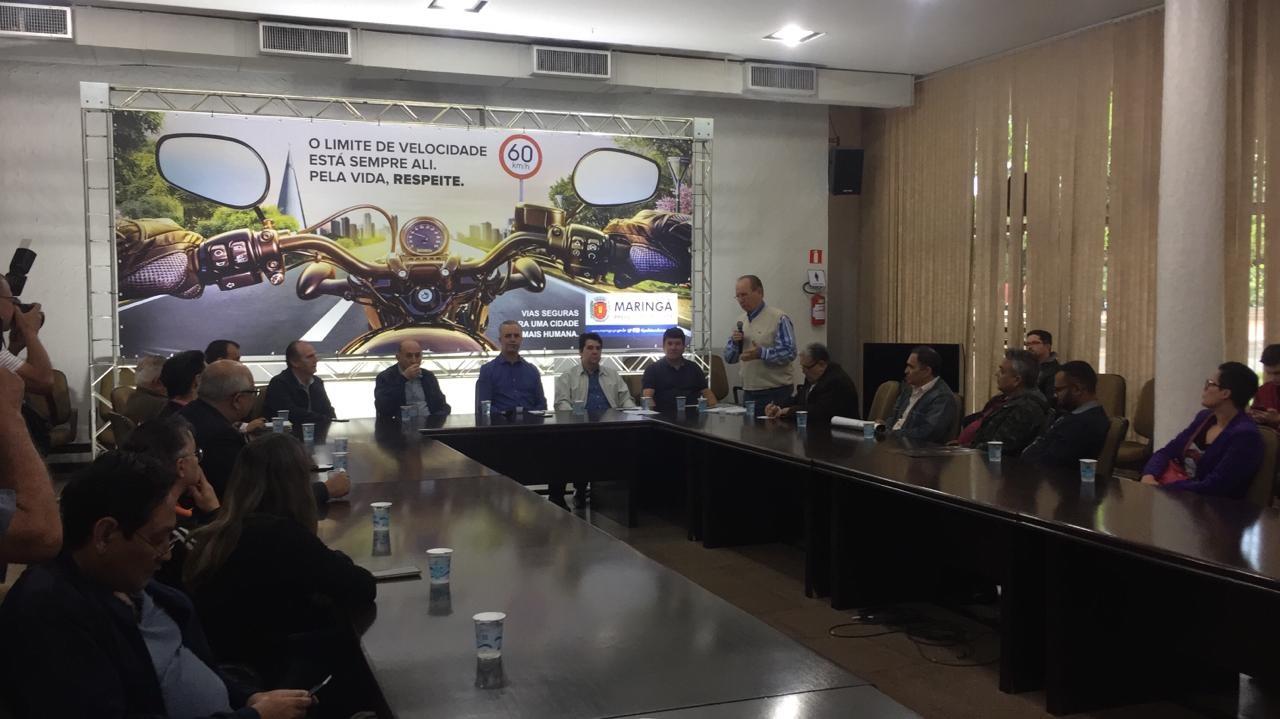 Prefeitura de Maringá apresenta campanha que será veiculada em meios de comunicação
