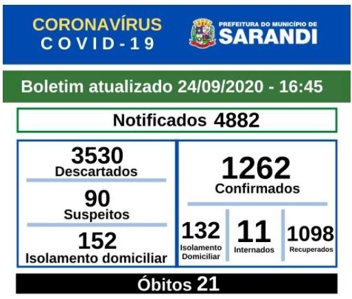 Divulgação/Prefeitura de Sarandi