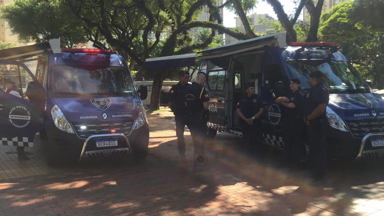 Módulos móveis da Guarda Municipal estão em funcionamento em Maringá