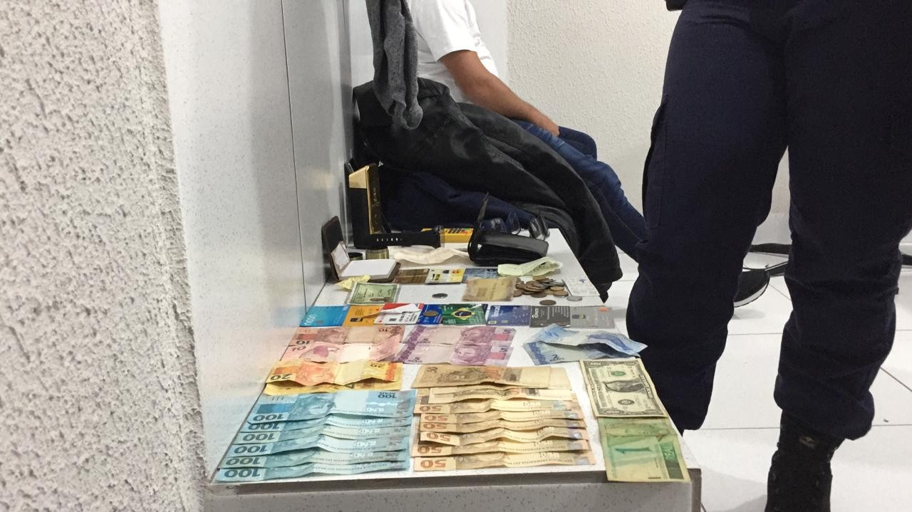 GM prende homem suspeito de furtar objetos na rodoviária