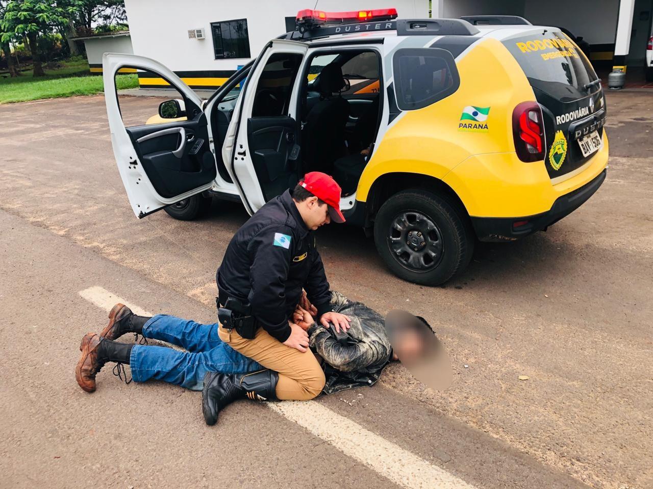 PRE prende sequestrador em Cruzeiro do Oeste