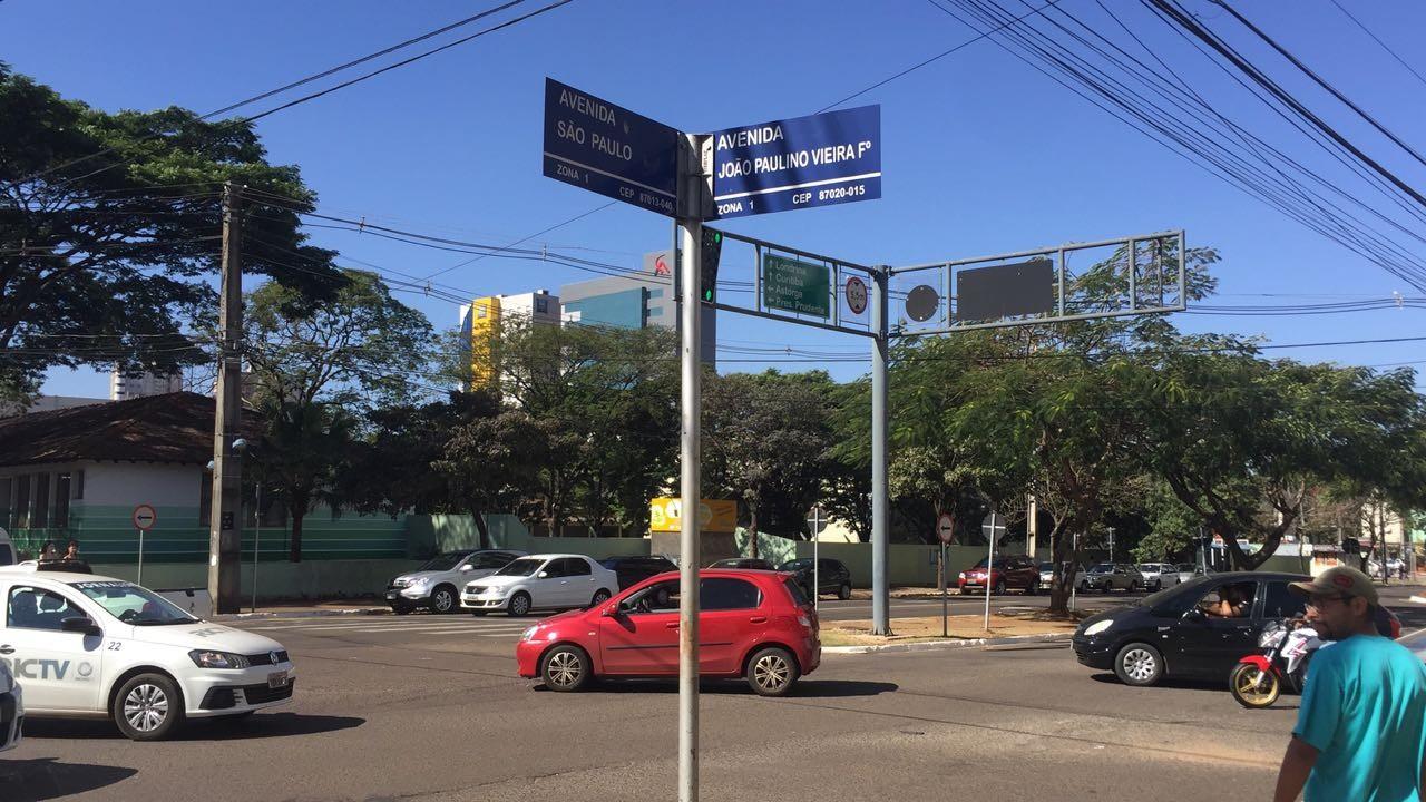 Semob pretende alterar semáforos no cruzamento da São Paulo com a João Paulino