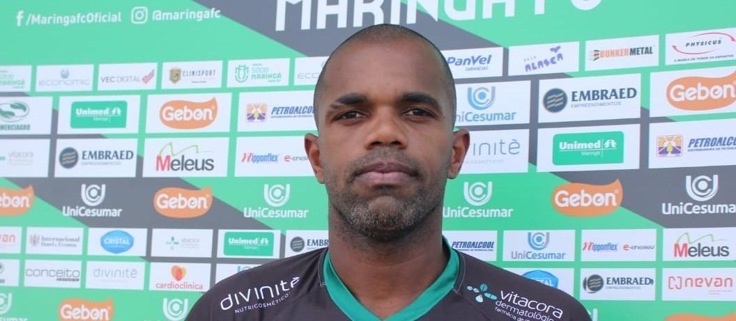 Maringá FC anuncia contratação do atacante Tadeu, ex-Palmeiras e São Paulo