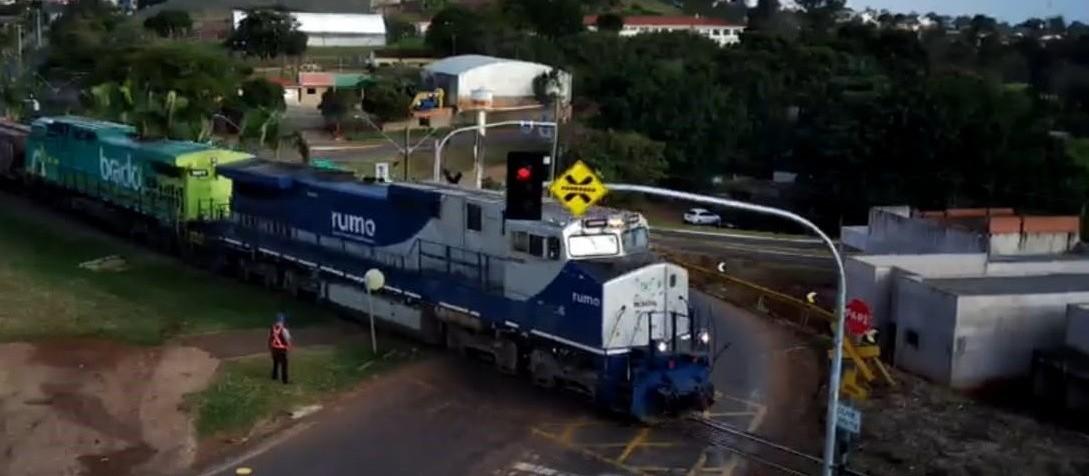 Jandaia do Sul testa sistema sensorial para evitar acidentes na linha do trem