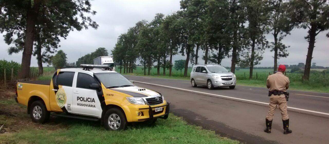 PRE já flagrou 214 motoristas em alta velocidade na região de Maringá