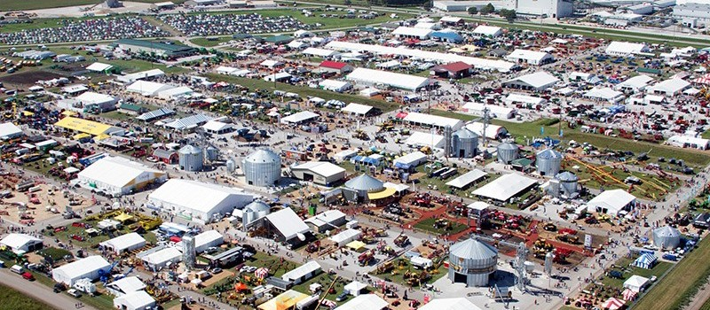 Farm Progress Show é a maior feira dinâmica de tecnologia agrícola do mundo