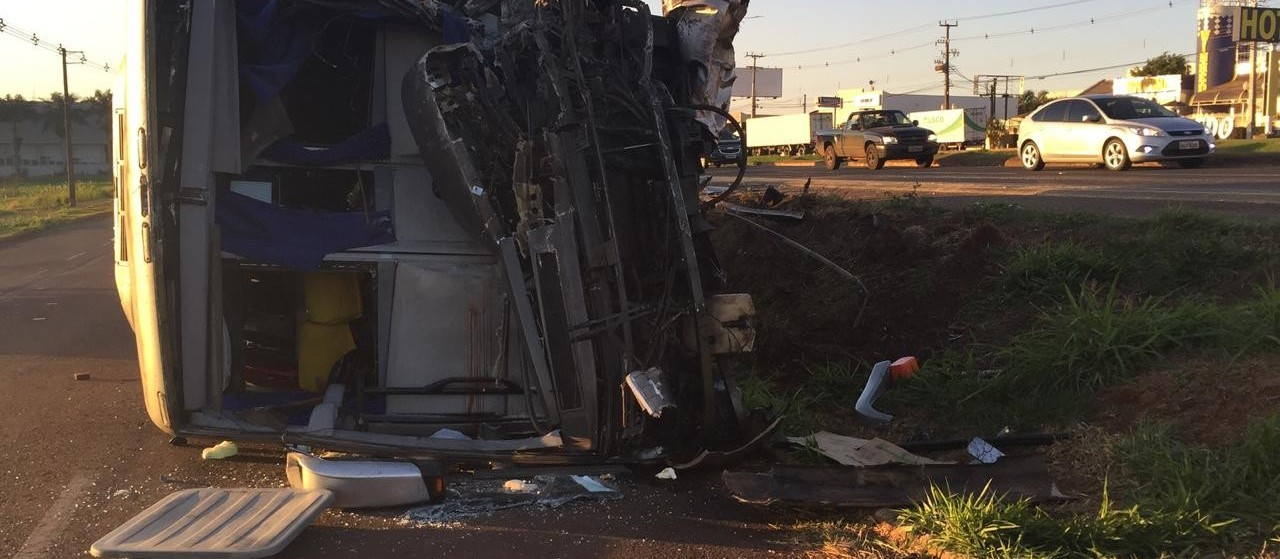 Delegado de Marialva diz que são 25 feridos em acidente na BR-376