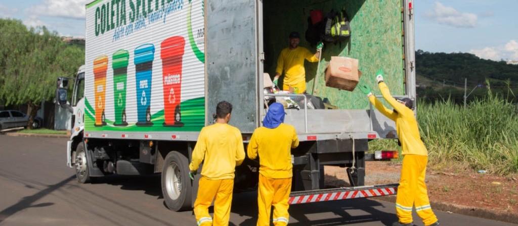 Coleta recolhe 3.400 mil toneladas de recicláveis em Maringá