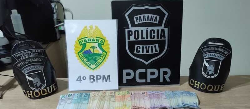 Seis pessoas são presas durante operação policial em Mandaguaçu