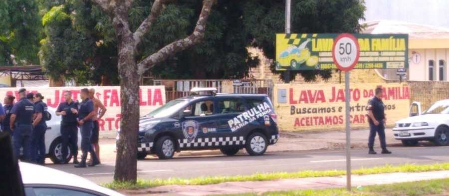 Maringá: fiscalização da prefeitura acaba com homem desmaiado