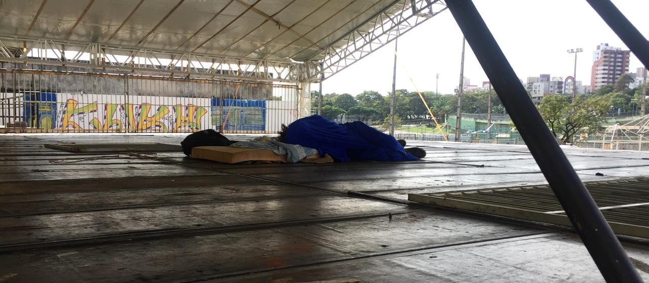 Estruturas da Vila Olímpica viram abrigo