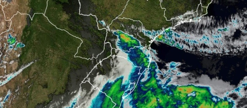 'Ciclone bomba' pode causar temporal e ventos de 80 km/h em Maringá