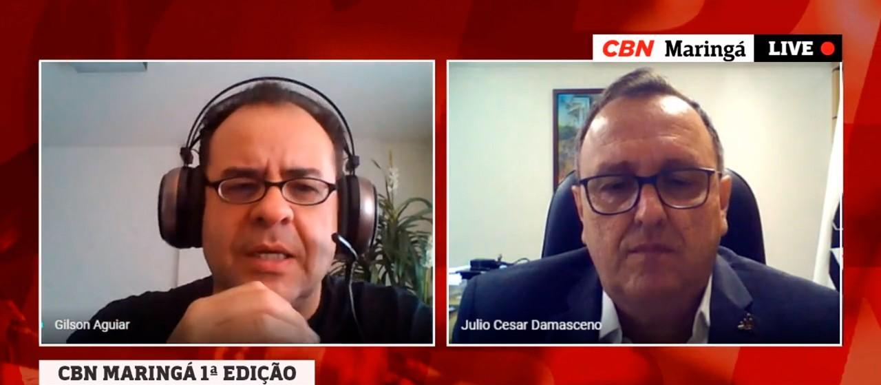 Reitor da UEM fala sobre calendário acadêmico e ações da instituição por causa da pandemia