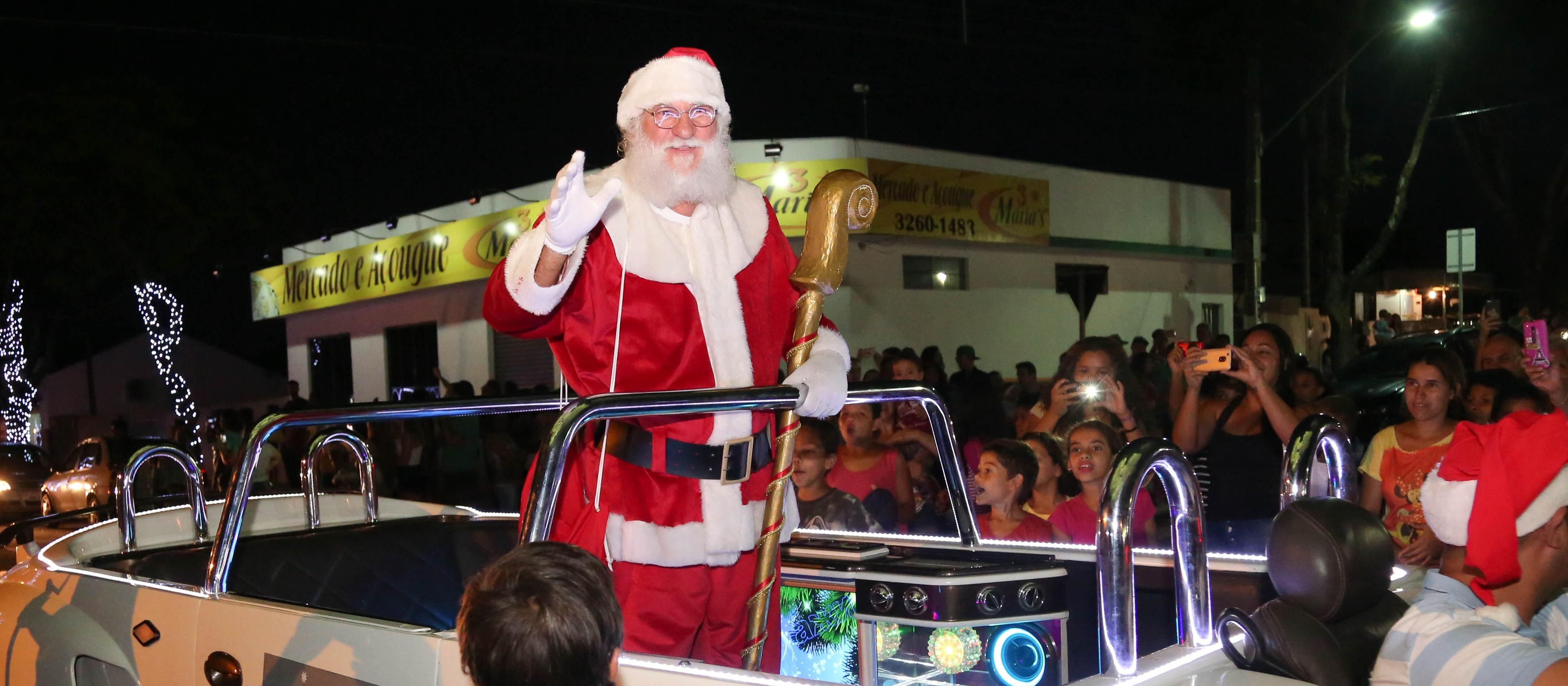 Natal de Maringá foi pago com dinheiro de reserva de contingência