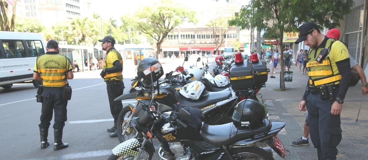 Vistoria semestral de mototáxis e motofretes segue até quarta-feira (22)