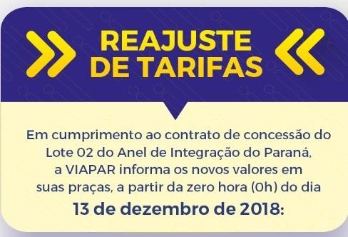 Liminar suspende redução das tarifas da Viapar e Caminhos do Paraná