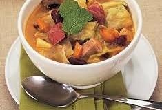 'Sopa de pedras' é uma receita clássica para o inverno