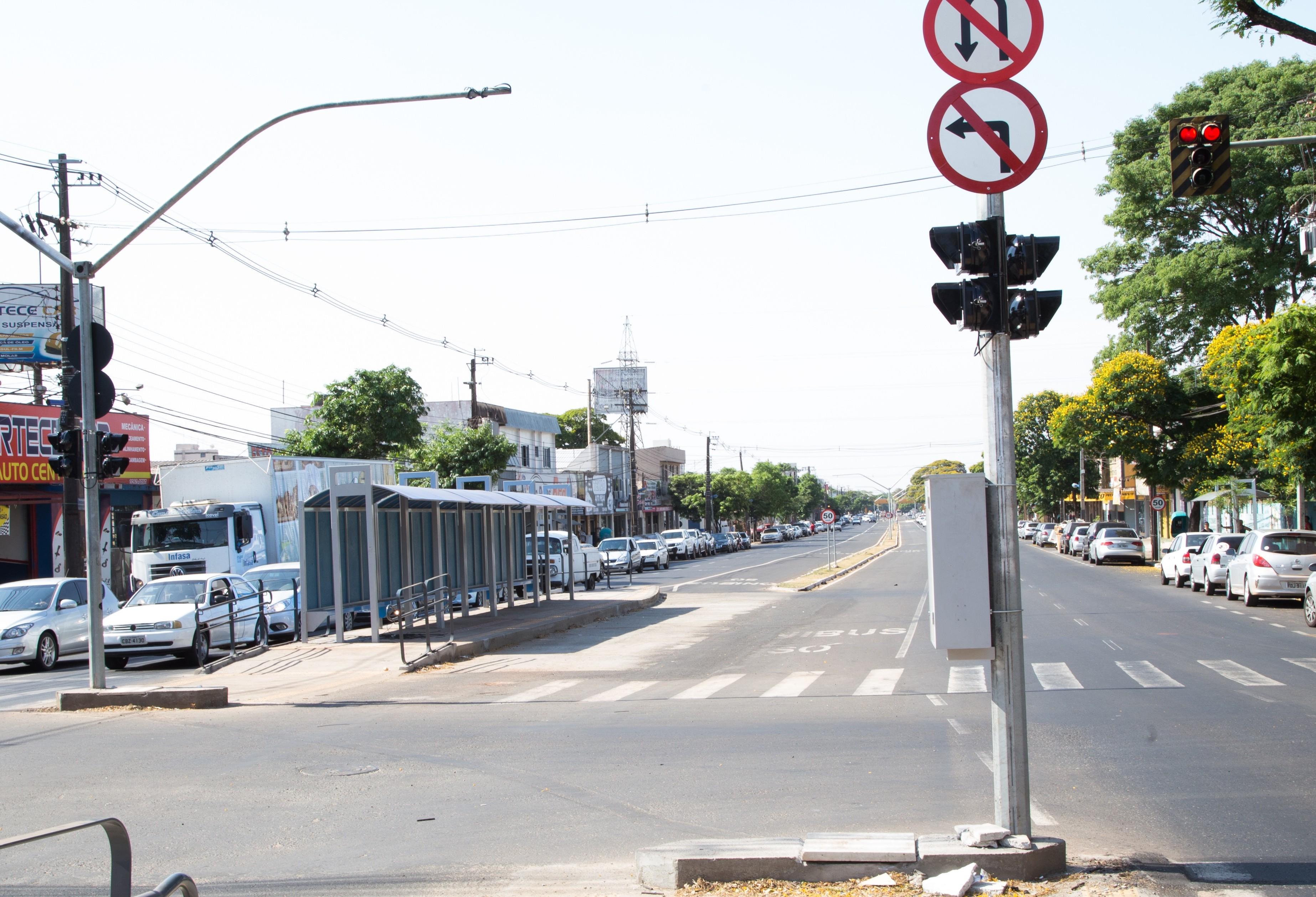 Corredor para ônibus começa a funcionar na segunda-feira (05)