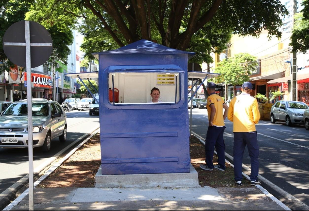 EstaR tem novo ponto de regularização no centro de Maringá