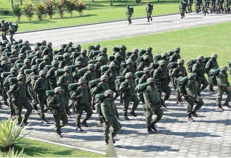 Marinha realiza concurso de admissão ao curso de fuzileiro naval