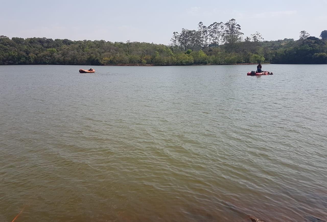 Bombeiros procuram por adolescentes que se afogaram em Apucarana
