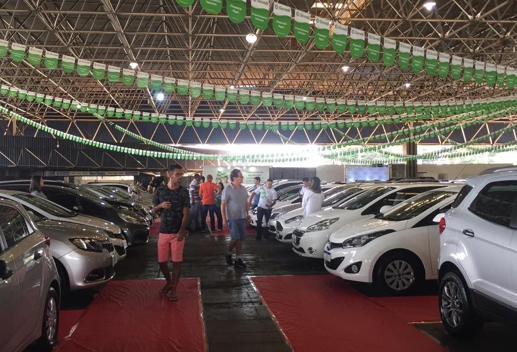 Feirão de veículos estima movimentar R$3mi