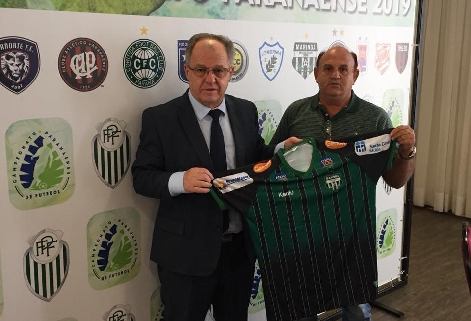 Maringá FC está no grupo A do Paranaense de Futebol