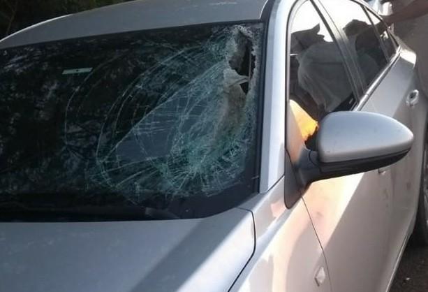 Morre no hospital mulher atingida por peça de caminhão