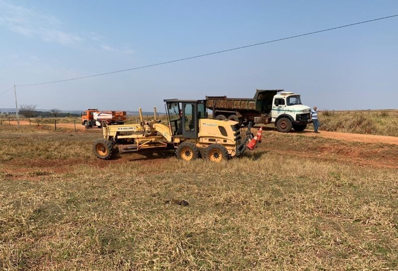 Homem morre em acidente com máquina agrícola