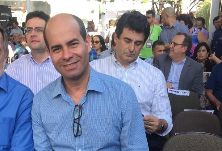 Deputado estadual Evandro Araújo participa da Expoingá