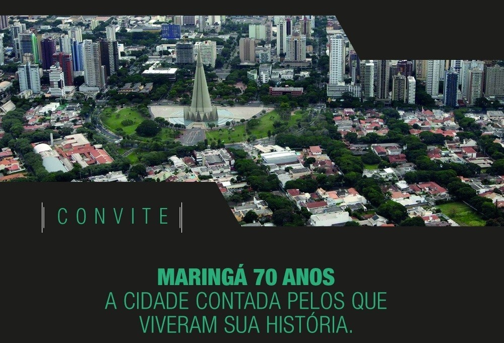 Livro conta a história recente de Maringá