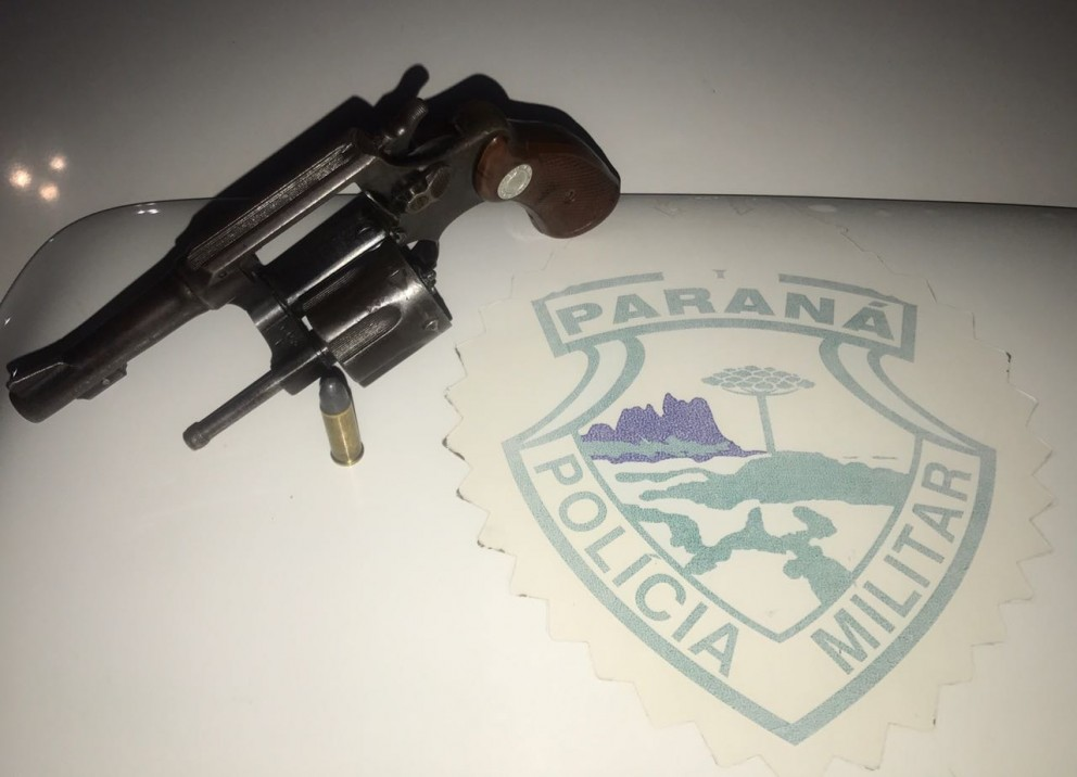 Homem é preso por disparos de arma de fogo