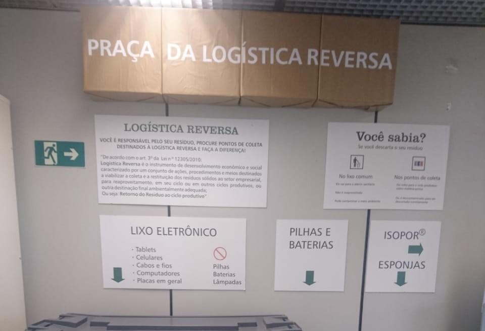 Praça de logística reversa ressalta tripé da sustentabilidade