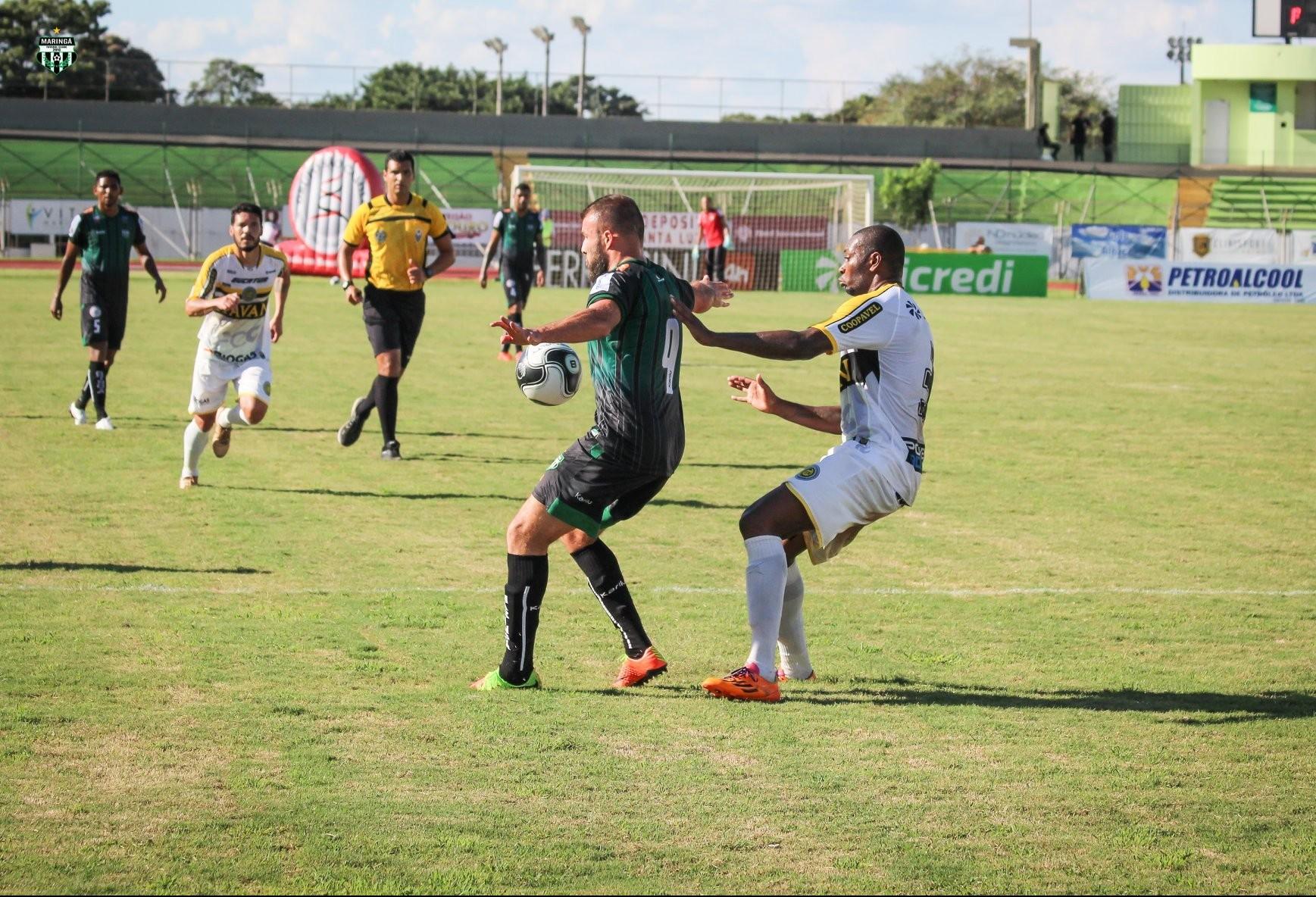 Maringá FC vence Cascavel em casa