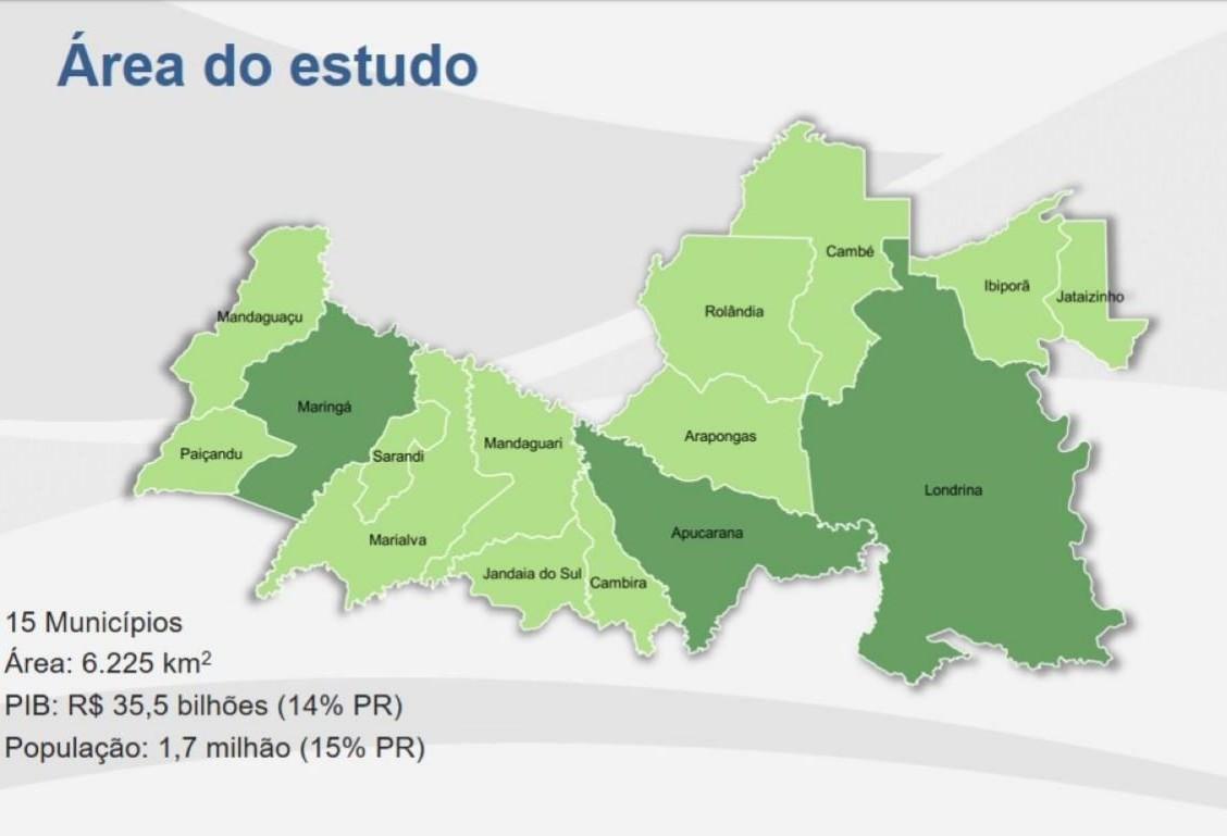 Desvio ferroviário do trem de carga e metrô de superfície estão no plano da Metrópole Paraná Norte
