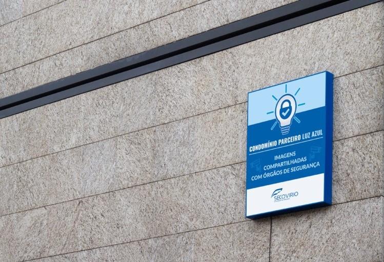 Projeto Luz Azul visa o aumento da segurança do cidadão em uma cidade