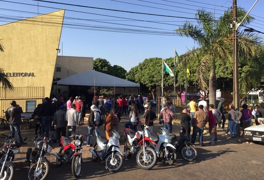 Quase dez mil eleitores terão os títulos cancelados em Paranavaí