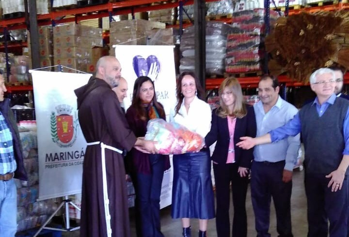 Provopar repassa 60 toneladas de alimentos arrecadados na Expoingá